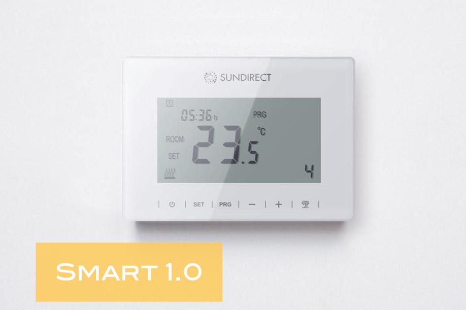 Dialkový ovládač Smart 1.0 pre riadenie infrapanelov série Plus