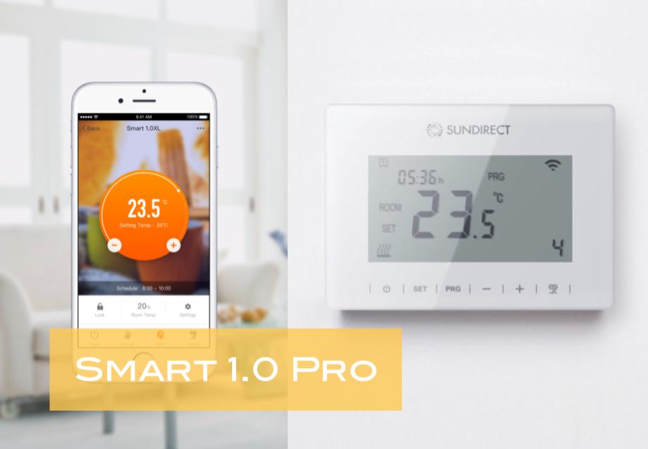 Dialkový ovládač Smart 1.0 Pro pre riadenie infrapanelov série Plus